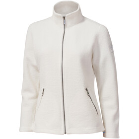 Ivanhoe of Sweden Bella Giacca con zip intera Donna, off white